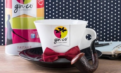 Gin-Co Ginseng Coffee